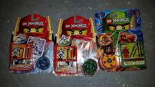 Lego NINJAGO Lot Wyplash Kai Kruncha SPINJAGO Minifigure DRAGON 9561 2174 2175