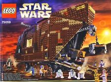 NEW INSTRUCTIONS ONLY LEGO UCS SANDCRAWLER 75059 Star Wars book from set