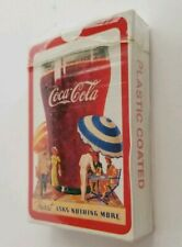"""Coca Cola Collectible """"THIRST"""" Ask Nothing More COKE DECK OF PLAYING CARDS"""