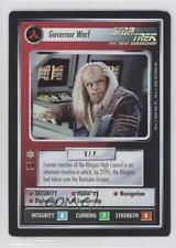 2000 Foil Expansion Set #NoN Governor Worf Governer Gaming Card 3v3