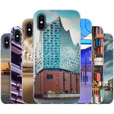 Dessana Hamburg TPU Silicone Protective Cover Phone Case Cover For Apple