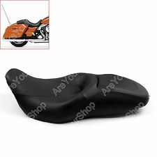 Sundowner Comfort Leather Seat For Harley Touring Street Glide Road King 07-2015