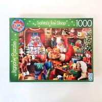 1000 Piece Jigsaw Puzzle - Santa's Toy Shop - Christmas Jigsaw Puzzle