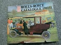 Rolls Royce Catalogue 1910-11 by Rh Value Publishing, Outlet (Hardback, 1988)