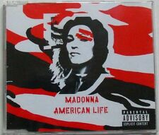 MADONNA (Maxi CD 3 Tracks Jewel Case)  AMERICAN LIFE