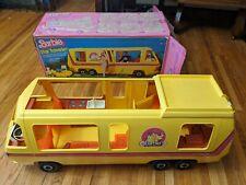 Vintage 1976 Barbie Star Traveler Eleganza Ii Motor Home Rv Camper And Box