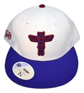 Stall & Dean Seattle Totems Hockey Cream Color Fitted Hat Pick Size