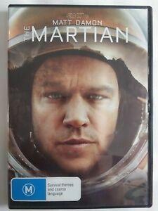 THE MARTIAN 2015 DVD Sci-fi Thriller Matt Damon