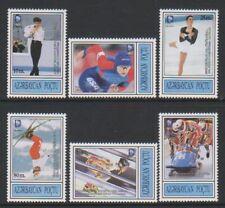 Aserbaidschan - 1995, Winter Olympische Spiele Norwegen Set - MNH - Sg 217/22