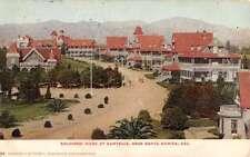 Santa Monica California Soldiers Home Sawtelle Antique Postcard K60681