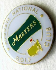 The Masters 2018 White Banner Ball Marker Only - Free Shipping