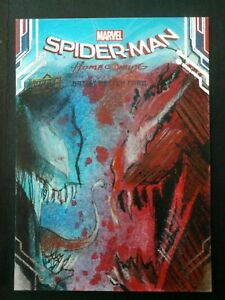 VENOM vs CARNAGE Sketch Card by DANNY KIDWELL Upper Deck Spider-Man: Homecoming