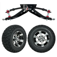 """GTW 6"""" Club Car DS Golf Cart Lift Kit with A/T Tires & 12"""" Wheels Fits 1982-2003"""