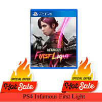 NEW PS4 Infamous First Light Sony Playstation 4 Brand New Game Ps4 Sealed