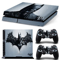 Batman Arkham Decal Skin Sticker for SONY PS4 Playstation 4 Console Controller
