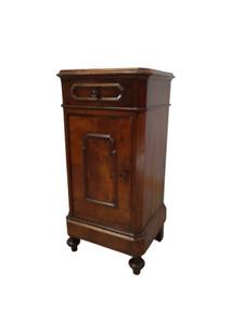 Comodino  in noce umbertino - fine 800 - tavolino - mobiletto -  molto bello!