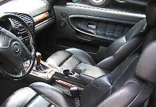 Inserti pannelli portiera in vera pelle per BMW E36 M3 berlina Luxury Pack