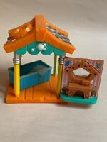 National Geographic Animal Jam Pet Wash Hut, Used, Kids Play Toy, Hard Plastic