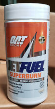 Gat Jet Fuel Superburn Fat Burner Weight Loss Energy 120 Capsules Focus Thermo