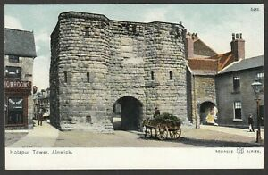 Postcard Alnwick Northumberland early view of Hotspur Tower