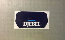 Suzuki DR 600 DJEBEL 1988 Tabella Anteriore - adesivi/adhesives/stickers/decal