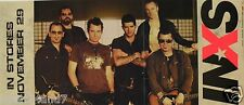 "Inxs ""Switch -Pretty Vegas"" 2-Sided U.S. Promo Poster /Banner -Group,Logo, Cover"
