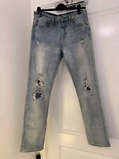 Gap Slim Stretch Ripped Jeans. Men W30 L32 . Used Just Once .