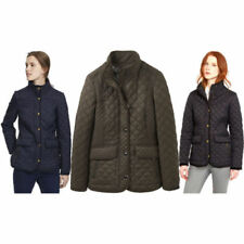 Cotton Blend Hip Length Quilted Coats & Jackets for Women