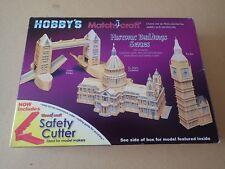 Hobby's Matchcraft Big Ben Matchstick Model Kit 11531