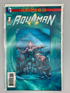Aquaman: Futures End #1 (2014) The New 52 3D Lenticular Cover