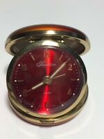Vintage Tradition Alarm Clock Red In Box w/ original paperwork, See Pics! WOW!