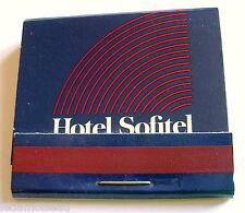 Pochette d'allumettes Hôtel SOFITEL.