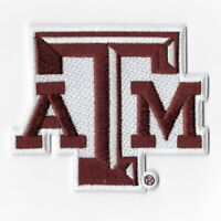 NCAA Texas A&M Aggies Iron on Patches Embroidered Badge Patch Applique Emblem
