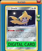 Jirachi - 99/181 Team Up PTCGO Online Digital Card