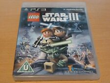 Sony PS3 Lego Star Wars III 3 The Clone Wars Game - Very Good Condition