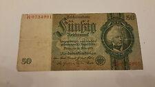 50 REICHSMARK GERMANIA 1924-1933