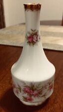 Paragon Victoriana Rose Fine Bine China Bud Vase Made In England 13cm