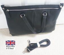 Genuine Leather Briefcase Messenger Business Shoulder Bag Tote Laptop Handbag
