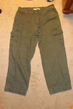 Men's Urban Up Pipeline Army Green Cargo Pants Size 34X30 Good Condition