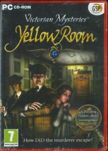 Victorian Mysteries, Yellow Room, Hidden Objects PC Game, NEW