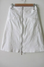 Karen Millen white skirt, size AUS 6-8, pre loved