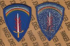 US Army Europe USAEUR dress uniform patch m/e