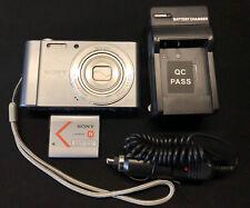 SONY Cybershot DSC-W810 20.1 Megapixel Digital Camera w/ Charger Works Great