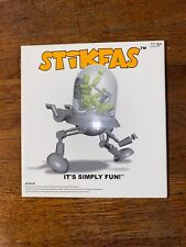 """STIKFAS Dome Robot Walker with G"""" Alpha Male Mint in Package"""