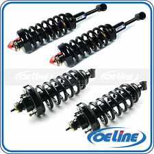 For 06-10 Ford Explorer Quick Complete Struts Shocks & Coil Springs w/ Mounts x4