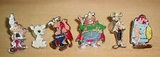 ASTERIX OBELIX AND MORE 1 LOT OF METAL PINS MADE IN ARGENTINA IN THE 70s