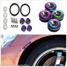 Universal Colorful Quick Release Fasteners Car Bumper Trunk Fender Lids Bonnets