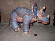 Jurassic Park Dakin 1993 Plush Triceratops large