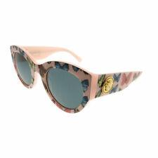 e99cda48955f Versace VE 4353 528687 Butterfly Pink Plastic Cat-Eye Sunglasses Grey Lens