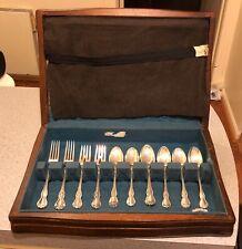 "New listing Hardwood silverware chest, empty, ~16"" x 11"" x 3"""